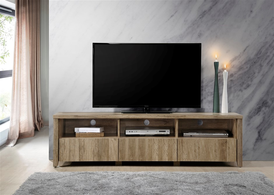 Traditional elegance meets modern charm with the Alice TV Cabinet.