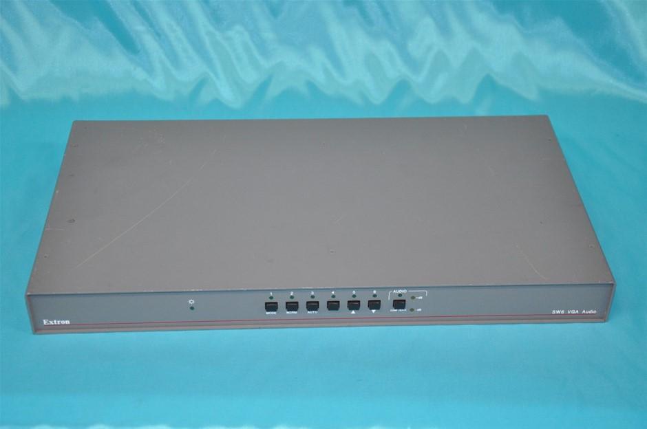 Extron SW6 VGA Audio Switcher