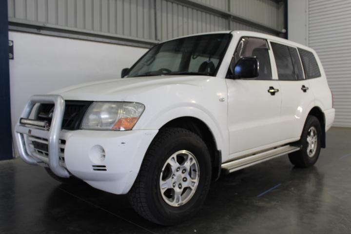 2004 Mitsubishi Pajero GLX LWB (4x4) NP T/Diesel Auto 7 Seats Wagon