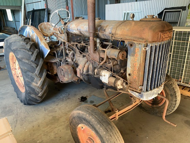 1950 Fordson E27N Tractor