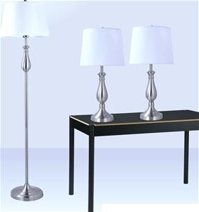 3-Piece Lamp Set Modern Home Living Room