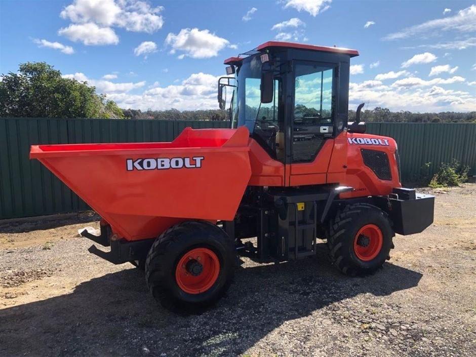 New 2020 Kobolt KD928 Articulated All-Terrain Mini Dump Truck