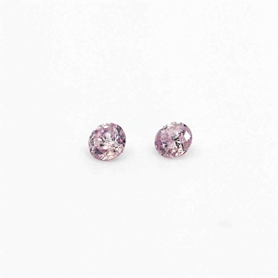 0.030 ct Pink Diamond