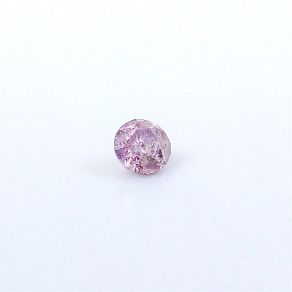 0.060 ct Pink Diamond