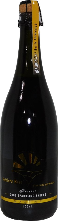 Settlers Rise Reserve Sparkling Shiraz 2008 (12x 750mL), Qld