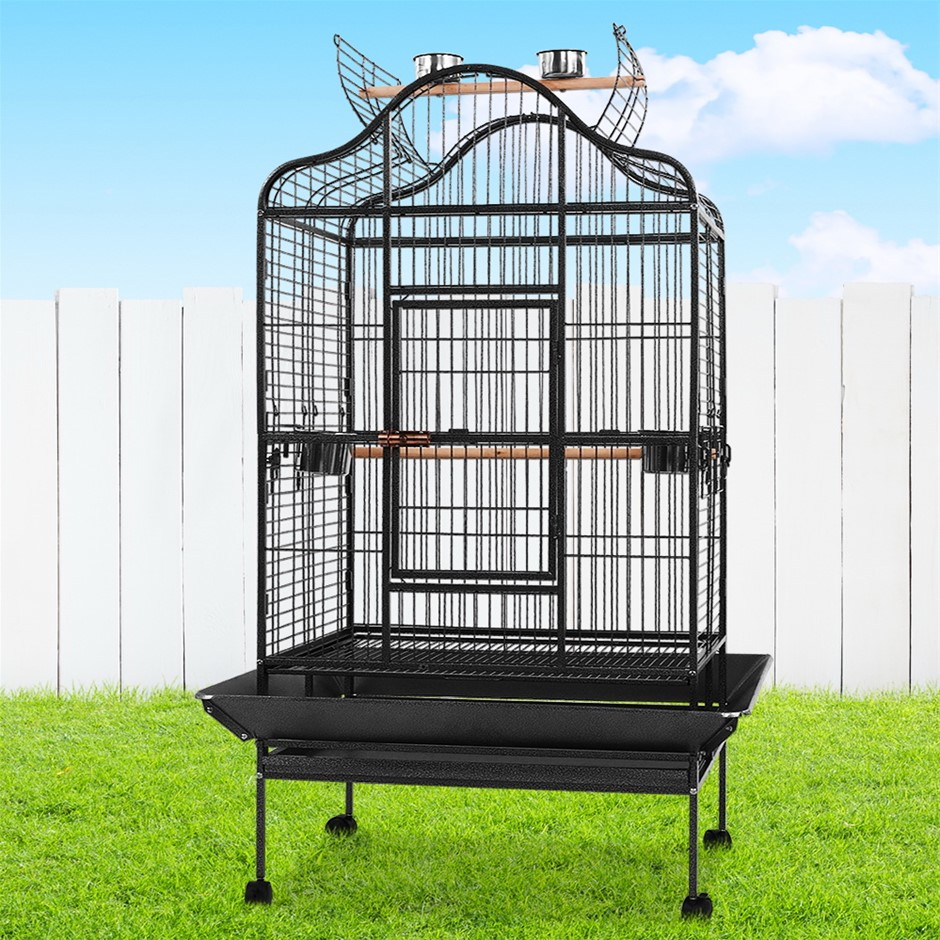 i.Pet Bird Cage Pet Cages Aviary 183CM Large Travel Stand Budgie Parrot