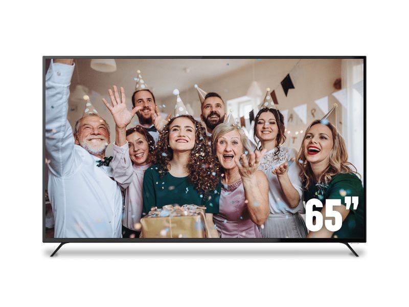 """SONIQ E65UV40A 65"""" 4K UHD DVB-T LED TV"""