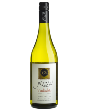 Pizzini Verdicchio 2014 (12x 750mL), King Valley. Screwcap.