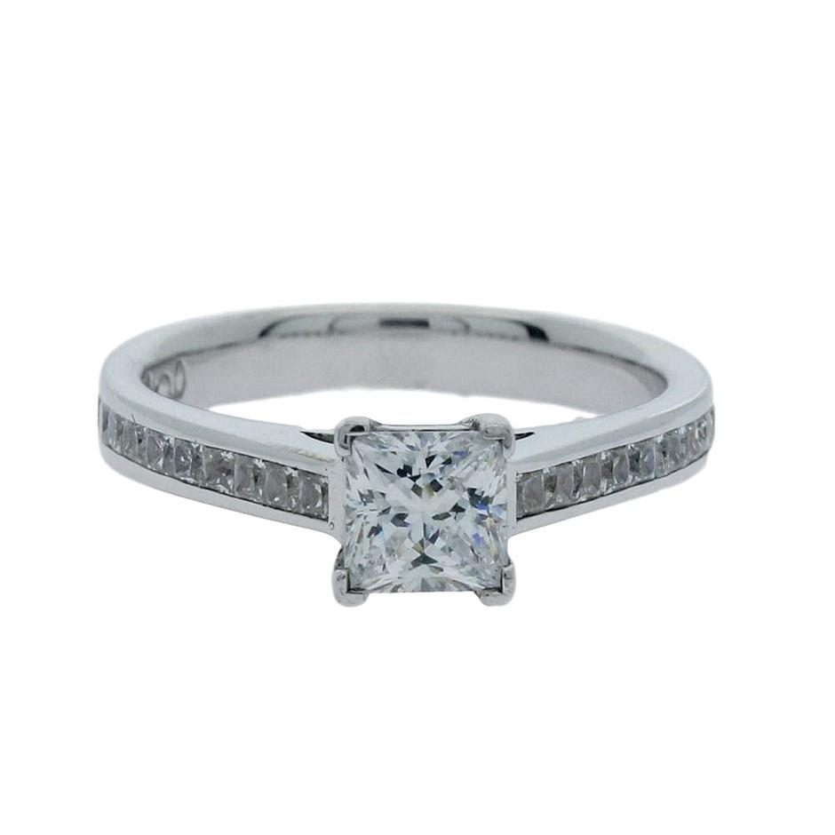 1.25 Carat Sterling Silver ring