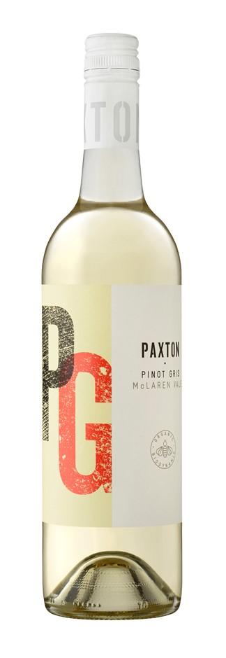 Paxton Pinot Gris 2019 (12x 750mL), McLaren Vale. Screwcap.