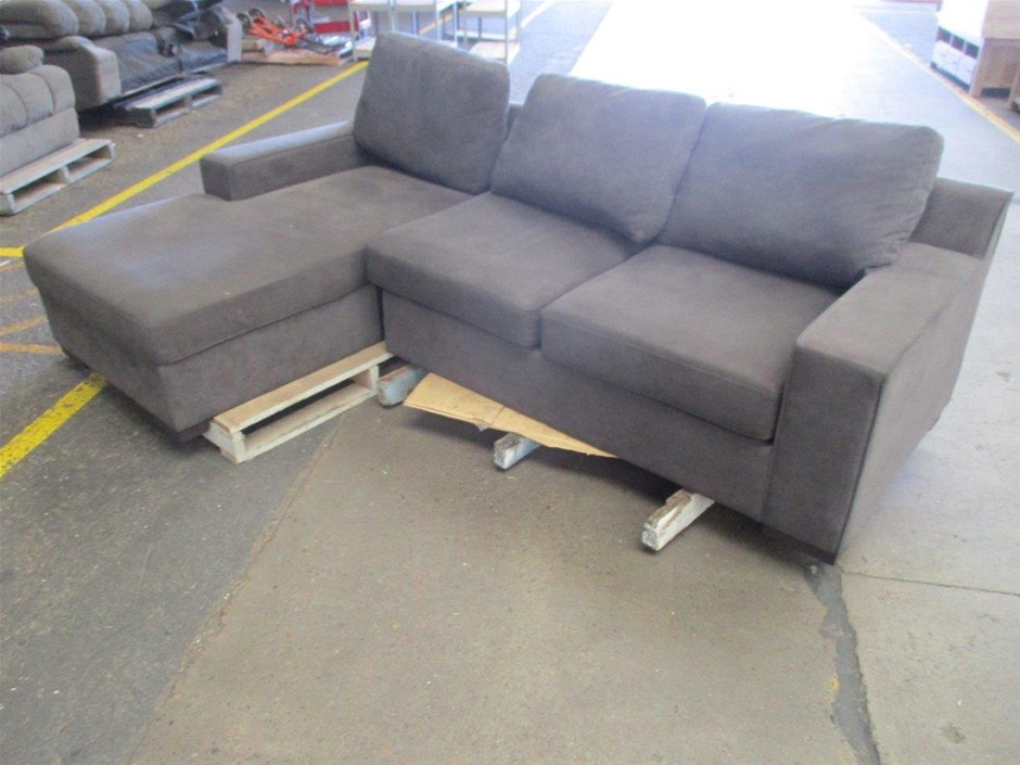 3 Seater Couch With Chaise and Sofa Bed