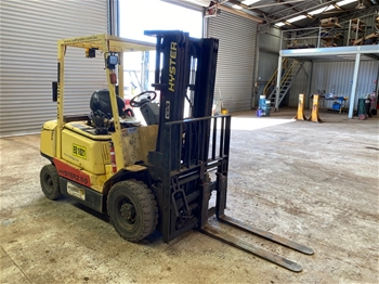 Hyster 2.5T 4 Wheel Counterbalance Forklift
