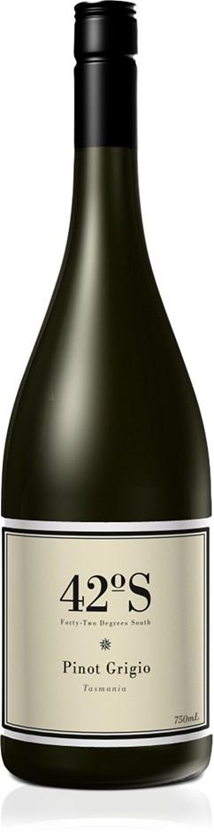 42 Degrees South Pinot Grigio 2020 (12x 750mL).