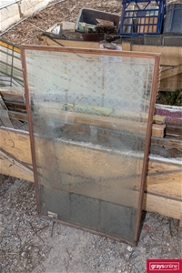 Qty of Assorted Recycled Lead Light Glas