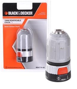 2 x BLACK & DECKER 10mm Quick Connect Cl