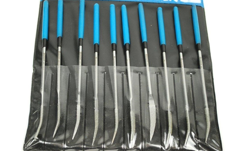 2 x BERENT 10pc Diamond File Sets. Buyers Note - Discount Freight Rates App