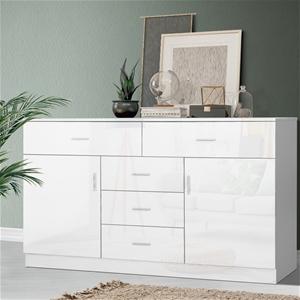 Artiss Buffet Sideboard Cabinet High Glo