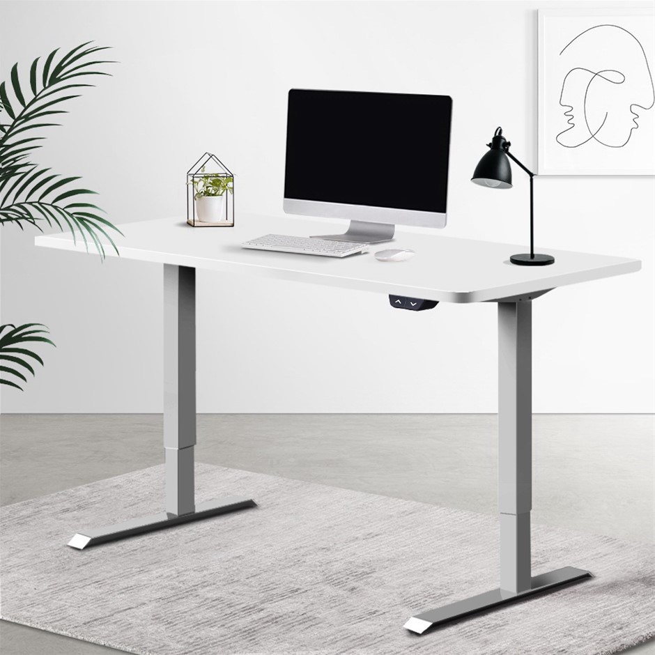 Artiss Standing Desk Motorised Height Adjustable Sit Stand Computer Table