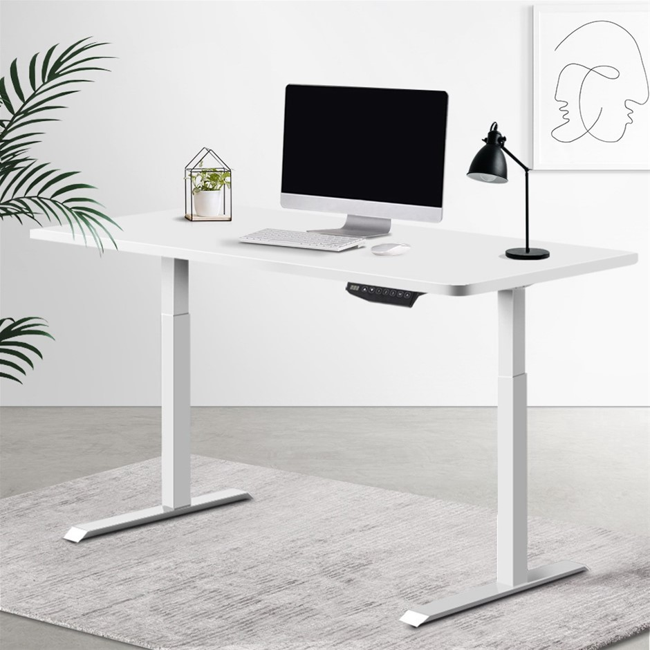 Artiss Sit Stand Desk Motorised Electric Computer Laptop Table Riser Office