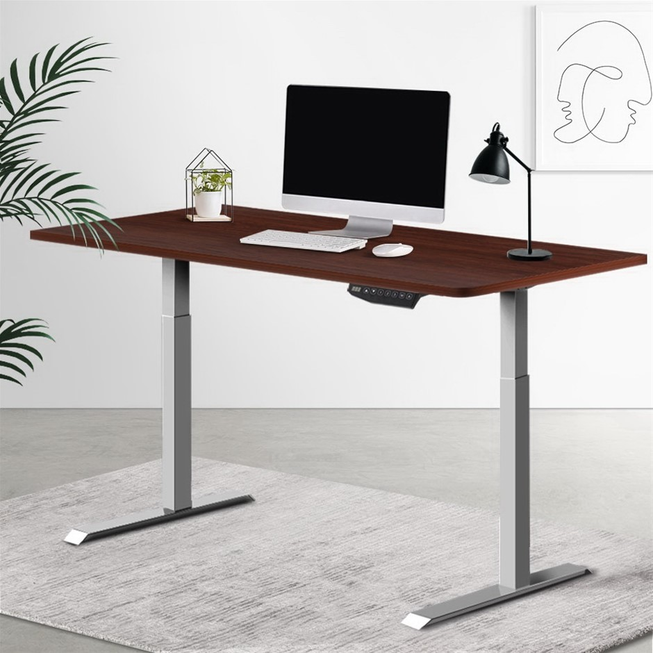 Artiss Standing Desk Sit Stand Laptop Computer Table Motorised Electric