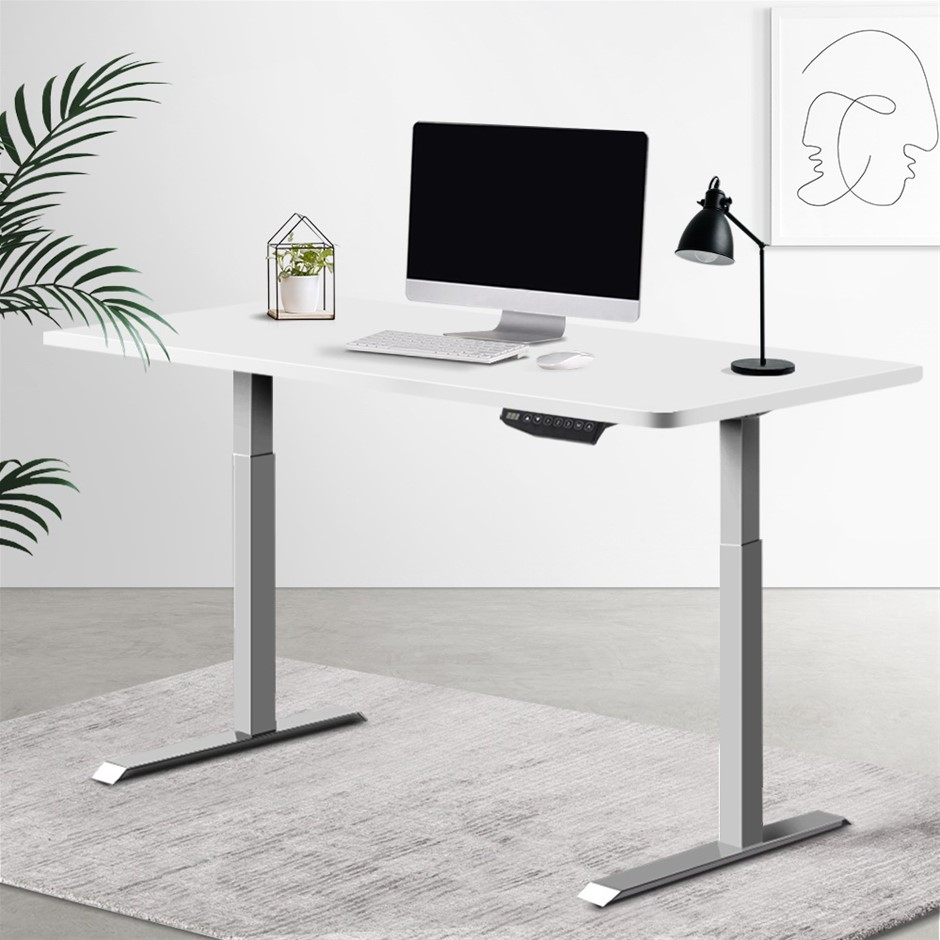 Artiss Sit Stand Standing Desk Motorised Electric Adjustable Computer Table