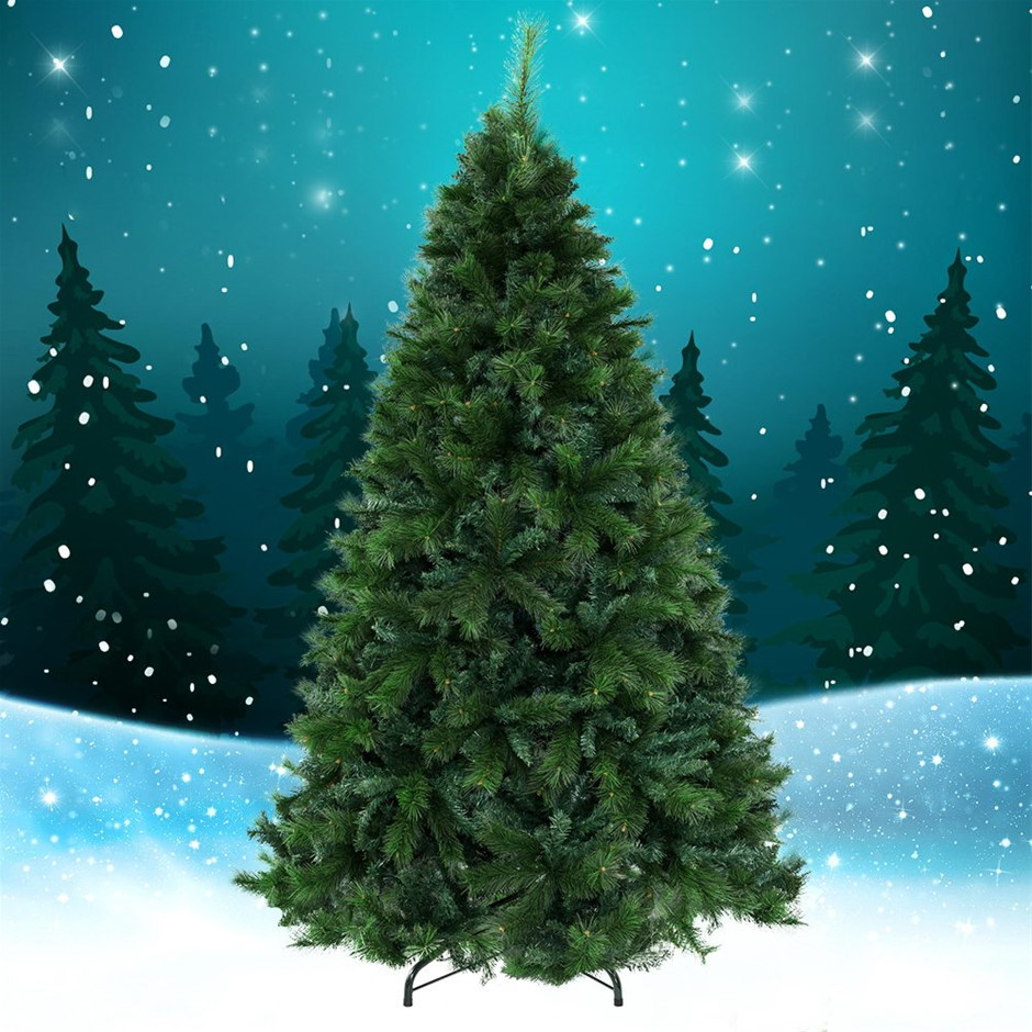 Jingle Jollys Christmas Tree 1.8M 6FT Xmas Decoration Green Home Décor