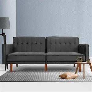 Artiss Sofa Bed Lounge 3 Seater Futon Co