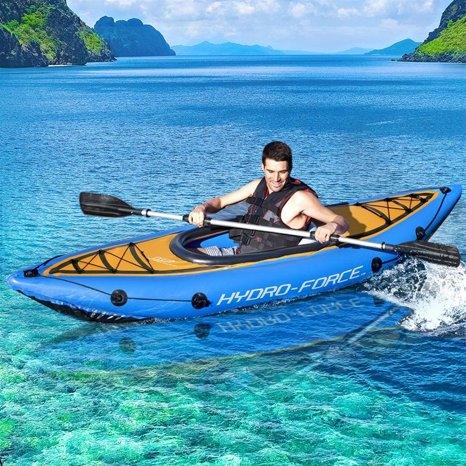 Bestway Inflatable Kayak Kayaks Fishing Boat Canoe Raft Koracle 275 x 81cm