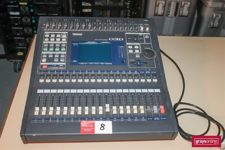 Yamaha O3D 24 Channel Digital Audio Mixing Console