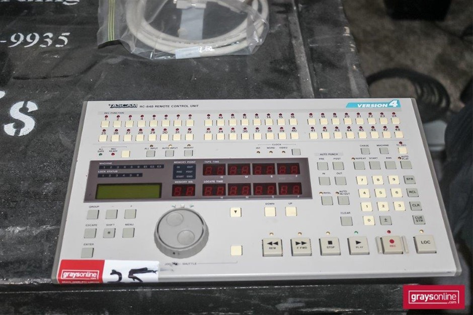 Tascam RC848 V4 Wired Remote Control Audio Unit