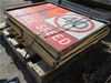 Pallet of Assorted Road Signs