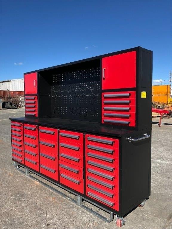 2020 Unused 40 Drawer Work Bench Cabinet