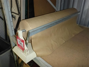 1 x Roll of Brown Paper with Dispenser