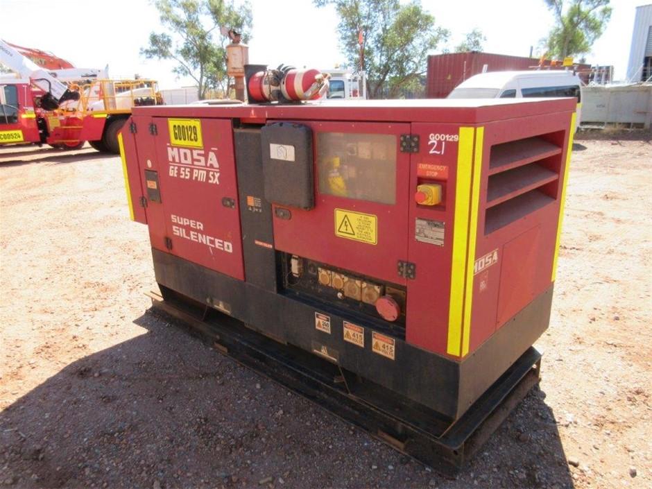 2011 Mosa GE 55 PM SX Super Silenced Generator