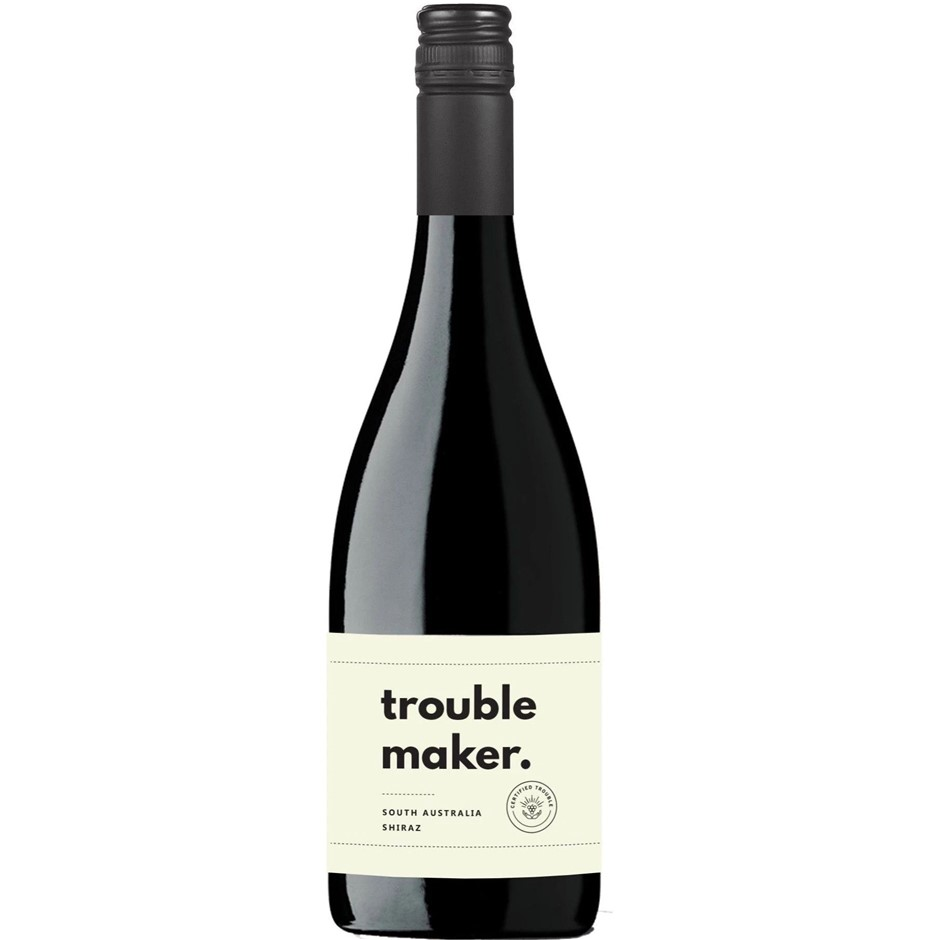 Curtis Family Vineyards Troublemaker Shiraz 2020 (12x 750mL)