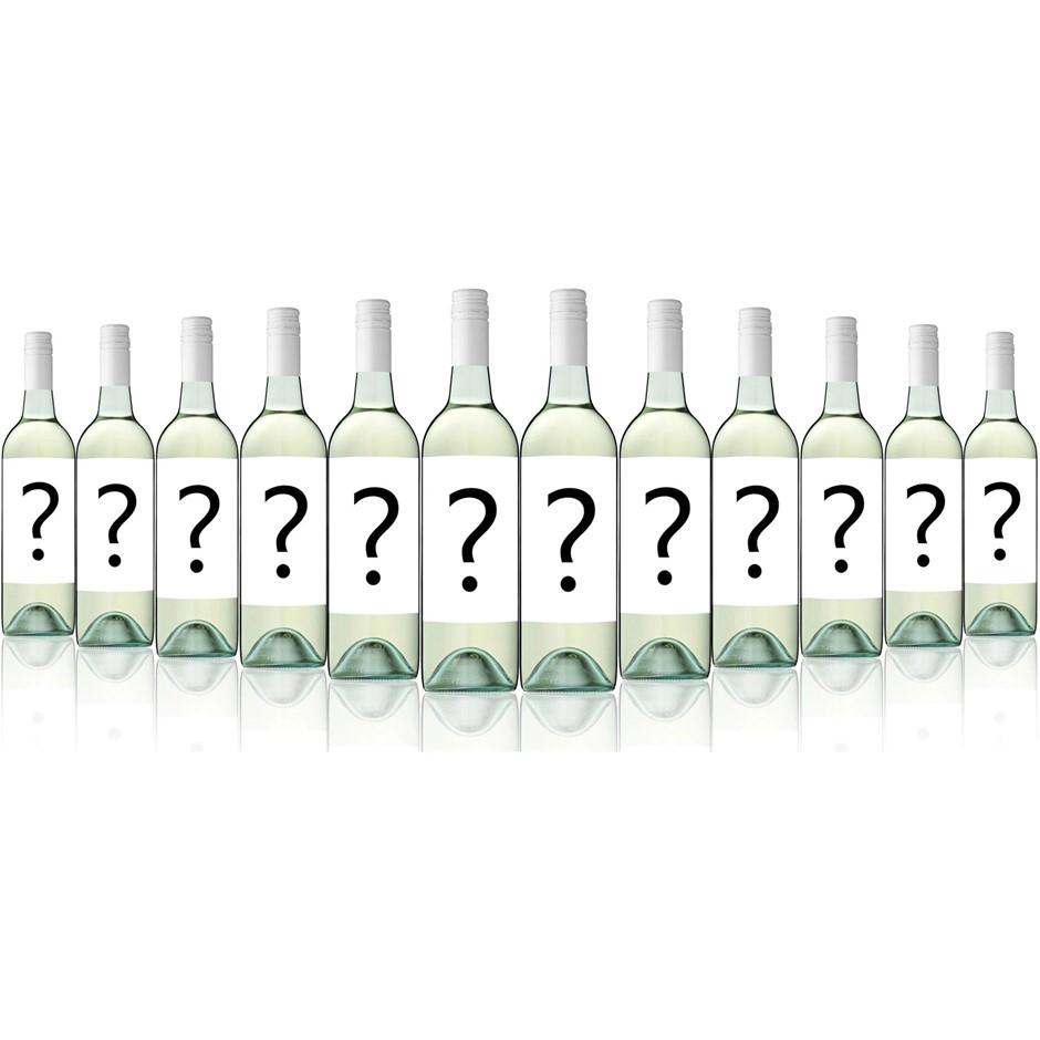 Mystery Big Brand Export Label Crisp Dry White 2017 (12x 750mL)