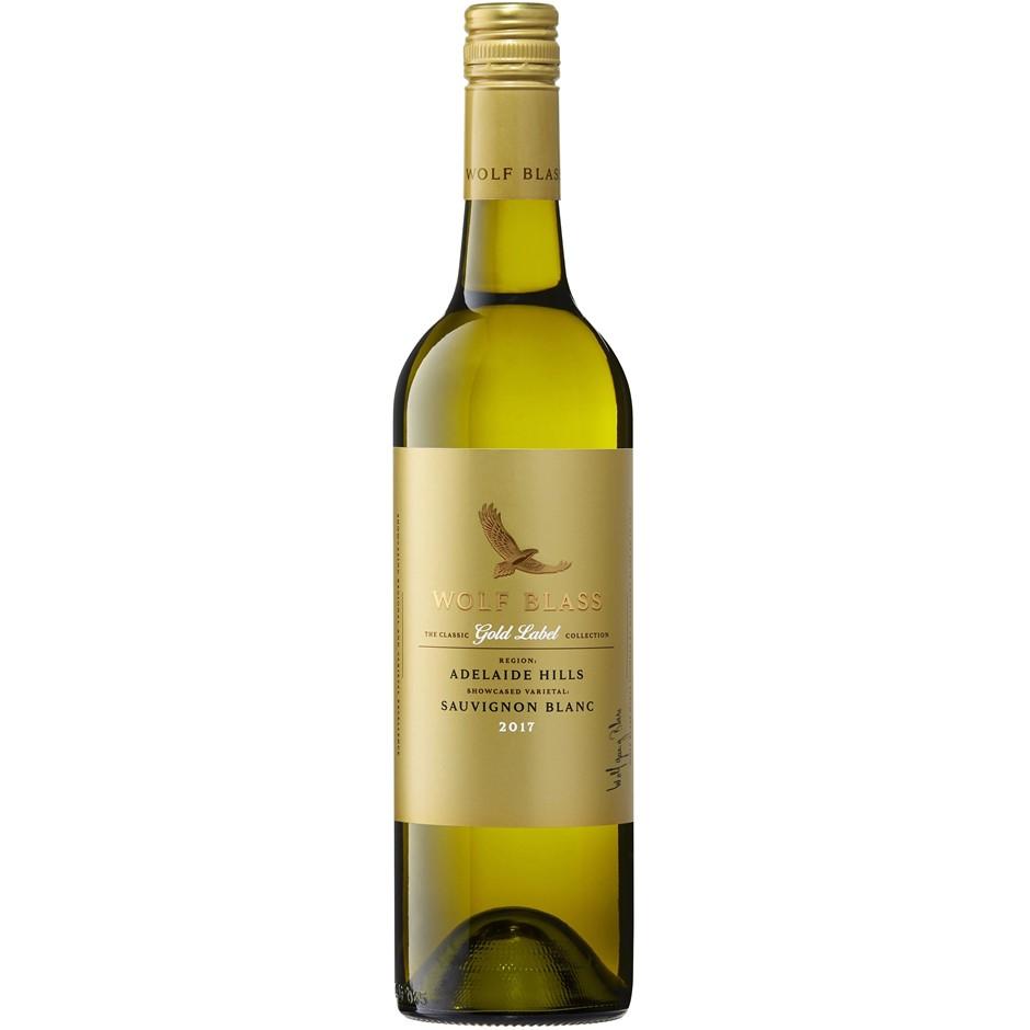 Wolf Blass Gold Label Sauvignon Blanc 2018 (6x 750mL)