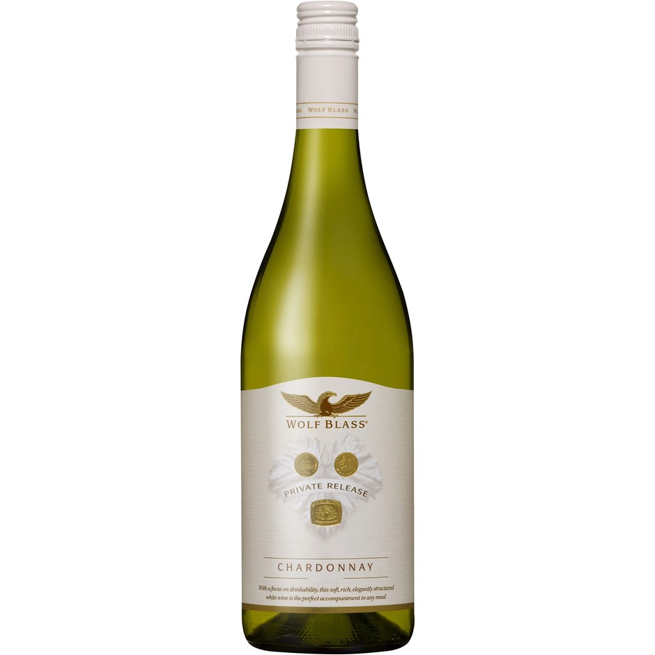Wolf Blass Private Release Chardonnay 2017 (6x 750mL)