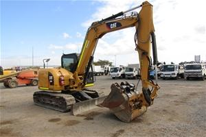 2012 Caterpillar 308E Hydraulic Excavato