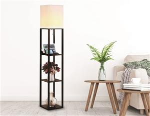 Shelf Floor Lamp - Shade Diffused Light