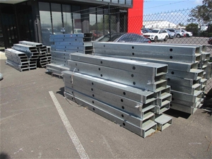 Large Qty of Rectangular Galvanised Duct
