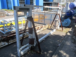 1 x Steel Frame for Fast Wire Cutting Ma