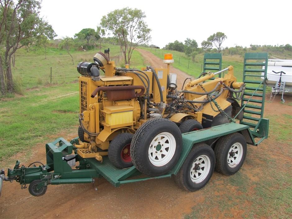 KHD Duetz F3L1011 Stump Grinder
