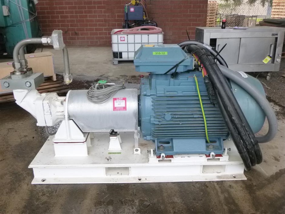 1 x 3 Phase ABB Induction Motor with Parker Hydraulic Pump (Item #48)