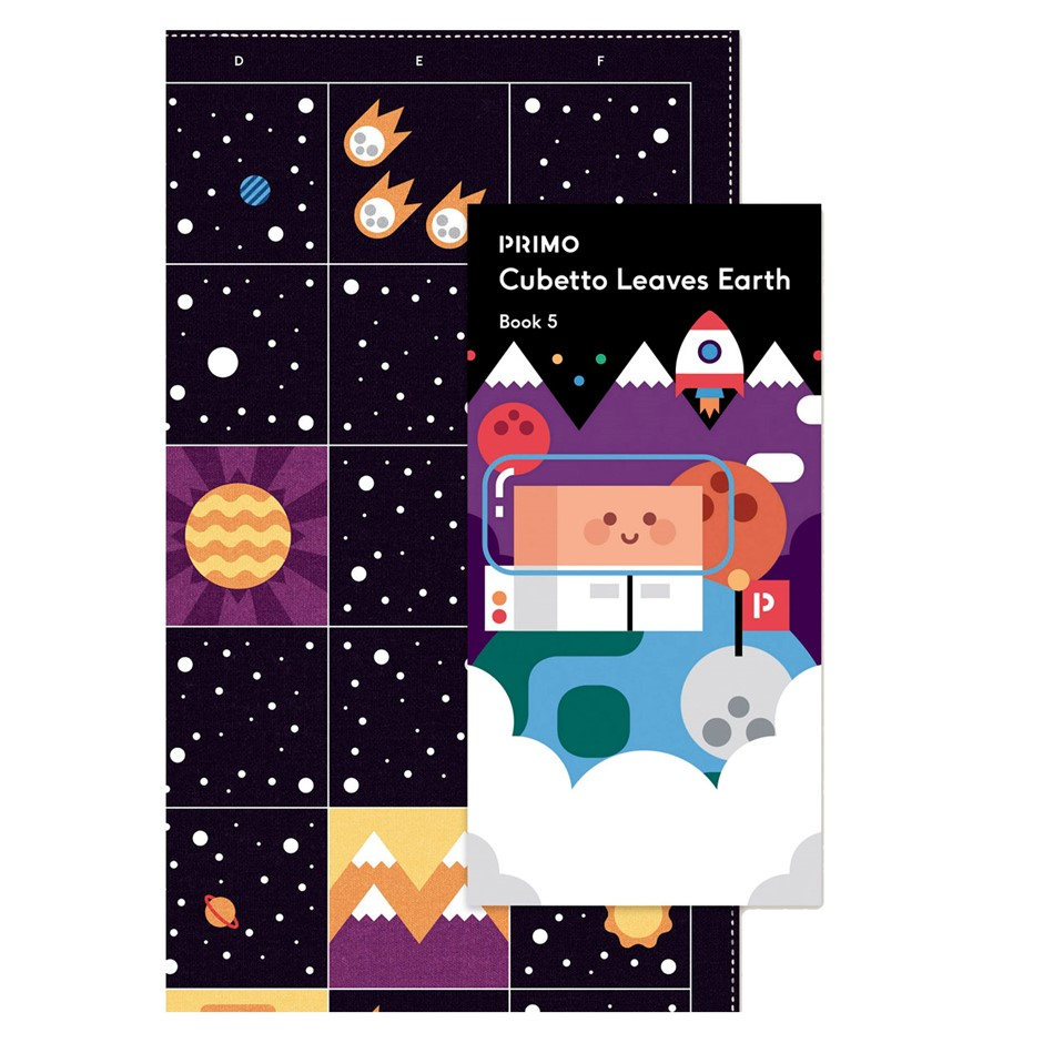 Primo Toys Adventure Pack Map and Story book - Space