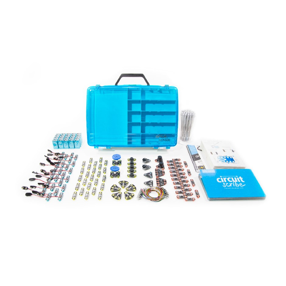 Circuit Scribe Intro Classroom Kit with Storage