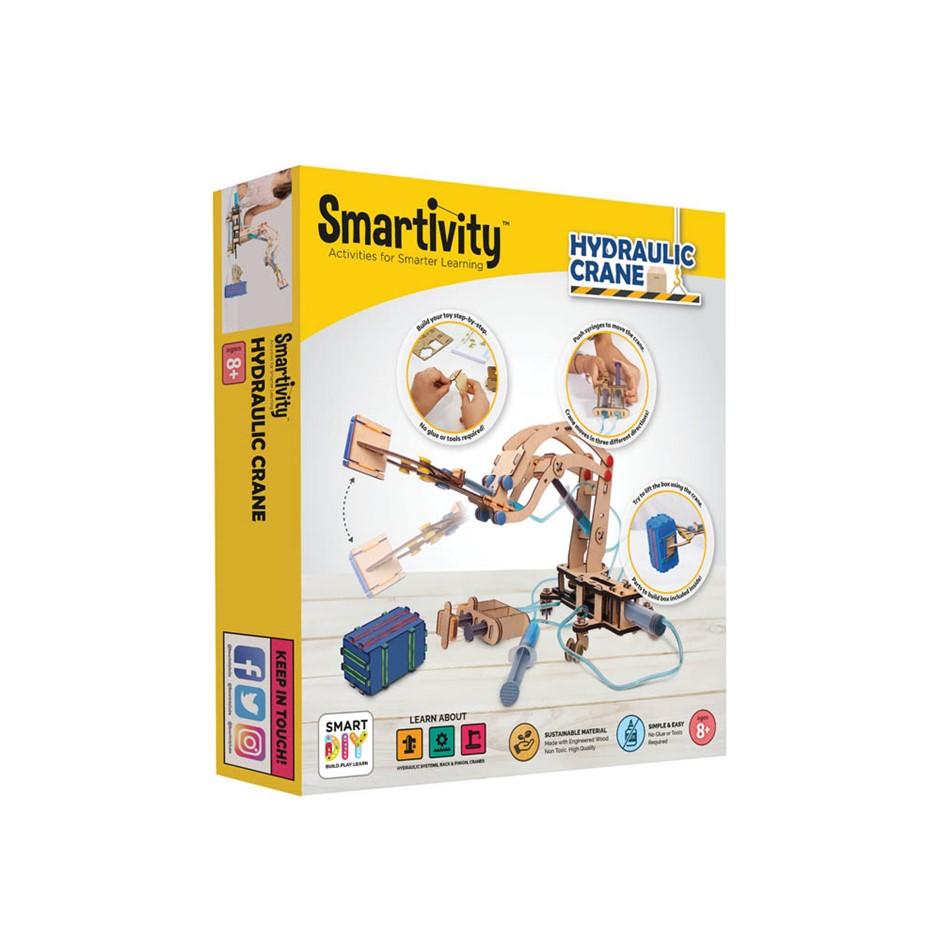 Smartivity Pump It Move It Hydraulic Crane