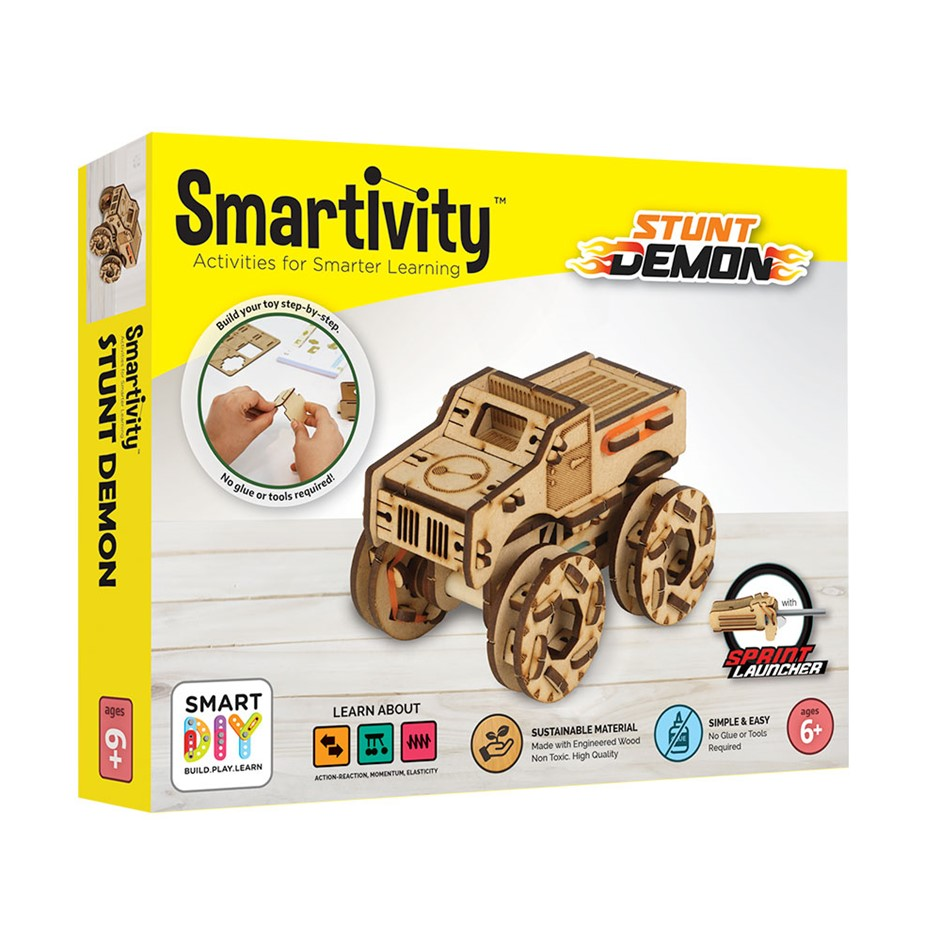 Smartivity STEMwheels Stunt Demon