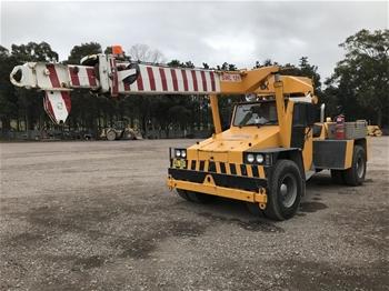 Franna 12 tonne Mobile Crane