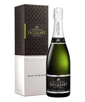 Champagne Jacquart Blanc de Blancs gift boxed 2012 (6x 750mL).